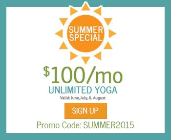 yoga promotion